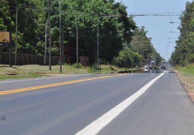 Terminó la repavimentación del acceso a la ciudad de Baradero