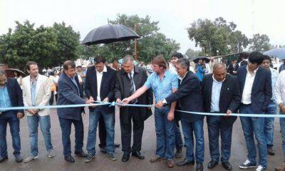 Inauguraron obras en El Talar