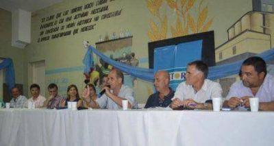 Plenario del kirchnerismo más puro de la 4ta sección electoral en la ciudad de Junín
