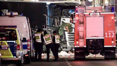 Aseguran que la matanza con un camión en Berlín fue intencional