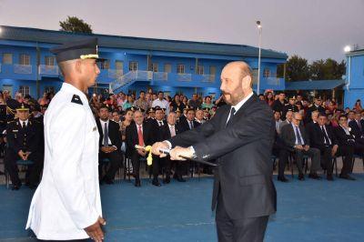Insfrán presidio incorporación de nuevos oficiales policiales