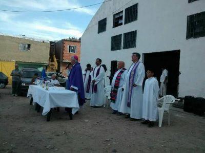 Mons. García en la misa de las 3T: