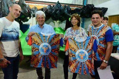 San Fernando: Andreotti visitó la primera Escuela de Samba local