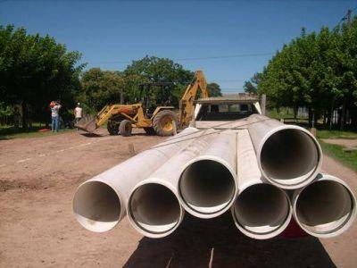 Adjudican obra de extensión de la red cloacal para el barrio Baldomero Fernández Moreno