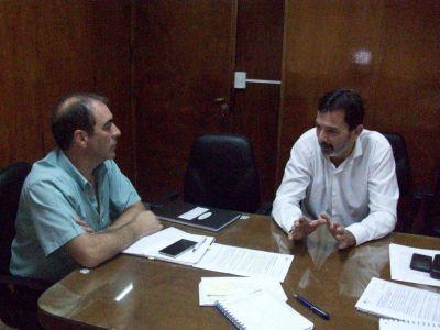 Sadop se reunió con el Director de Enseñanza Privada