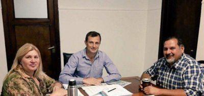 """Bucca llevó a cabo un encuentro con UPCN para avanzar con el programa """"Lotes con Servicios"""""""