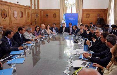 Isa asistió a la reunión de mandatarios convocada por el Gobierno nacional