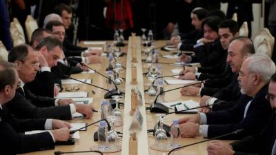 Sin Occidente, Rusia, Turquía e Irán acuerdan sobre la posguerra en Siria