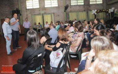 Molina: Para este gobierno la educación es un eje clave de gestión