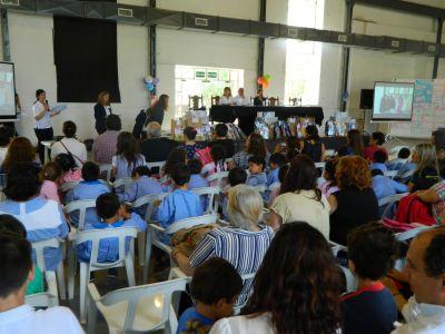 Más de 13 mil chicos participaron este año del Proyecto Educativo de Obras Sanitarias