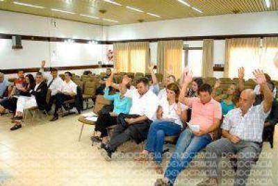 Tasas: el Concejo Deliberante aprobó por mayoría el aumento del 31,25%