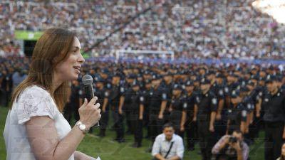 Vidal anunció un bono extra de $2.500 para policías de calle