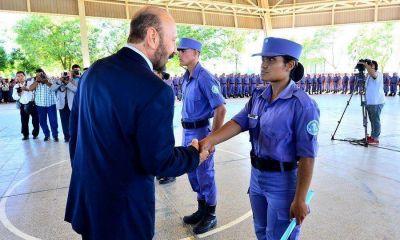 Seguridad: Se suman casi medio millar de agentes de policías a las calles