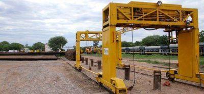 Comenzó la renovación ferroviaria de dos ramales que pasan por Taco Pozo, Las Breñas y Chorotis