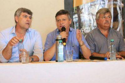 El ministro Buryaile pasó por el Chaco sin anuncios nuevos para el sector productivo