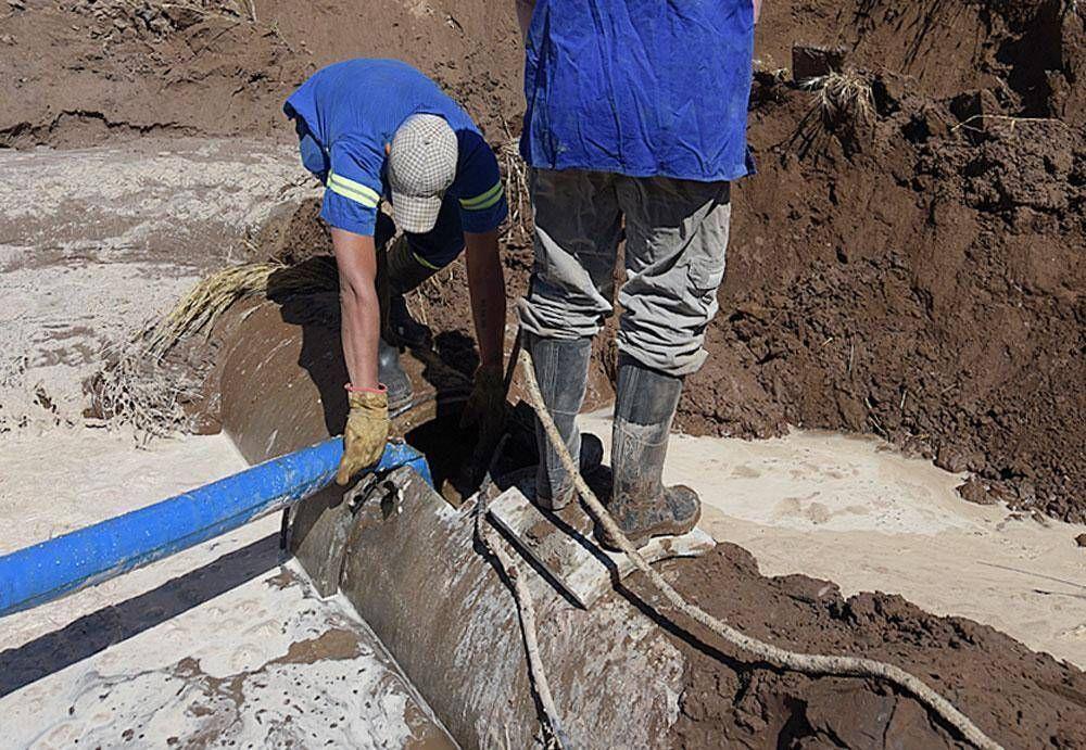 Se rompió otra vez el Acueducto del Colorado: puede faltar agua