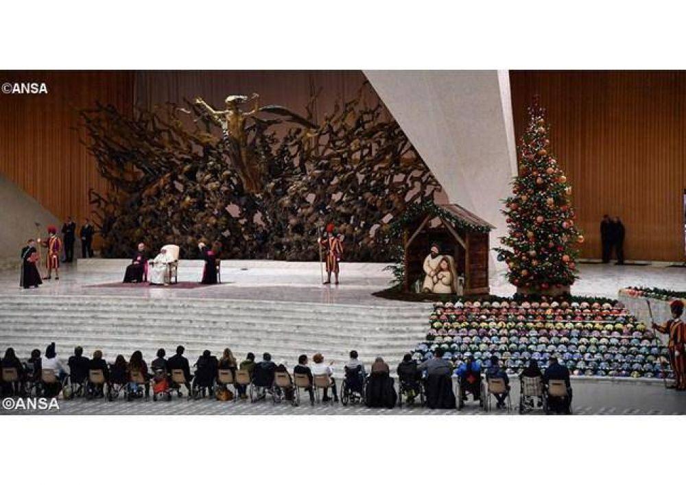 """Catequesis del Papa: """"Jesús, semilla de esperanza, tú puedes salvarme"""""""