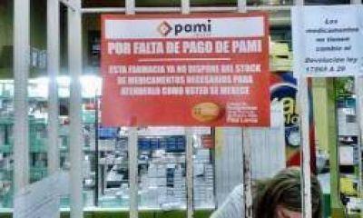Farmacias riojanas cortaron PAMI por tiempo indeterminado