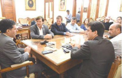 Sergio Casas y el INTI acuerdan asistencia al sector productivo