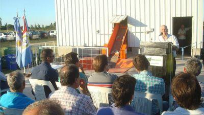 Inauguraron una planta de reciclado en Recreo