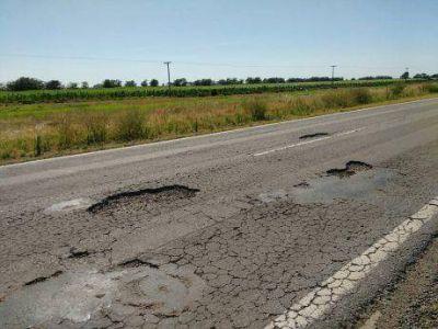 Se incrementa la indignación regional por el pésimo estado de la Ruta Nacional número 33 y la Ruta Provincial número 70