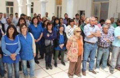 Bono navideño para trabajadores municipales