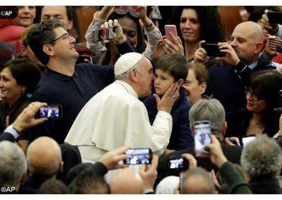 Intercambio de felicitaciones navideñas del Papa con los empleados vaticanos