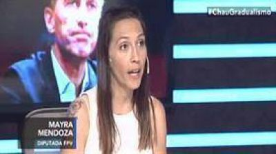 Mayra Mendoza tildó a Mario Negri de