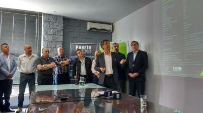 El consorcio adjudico la obra del dragado y presento a los nuevos miembros del directorio