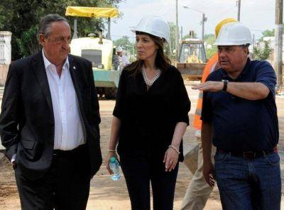 Vidal y Lunghi, solidez en CAMBIEMOS, destacaron la importancia de la obra pública