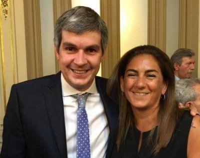Vidal ya le encontró reemplazo a Conte Grand: la ex interventora del PRO María Fernanda Inza