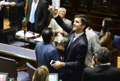 """Mosca destacó la votación del Presupuesto y dijo que """"el valor del diálogo lo aprendí de Vidal"""""""