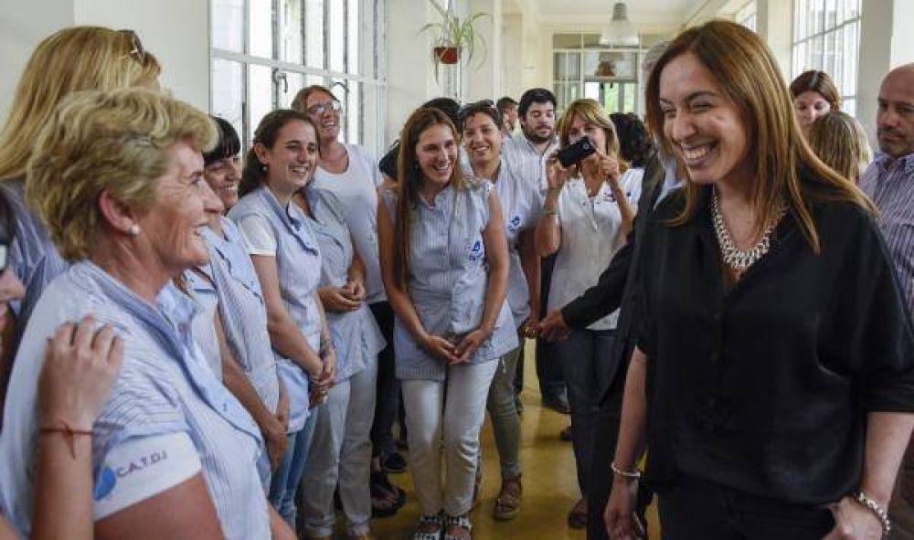 """Vidal: """"Para este gobierno cada uno de los bonaerenses es importante"""""""