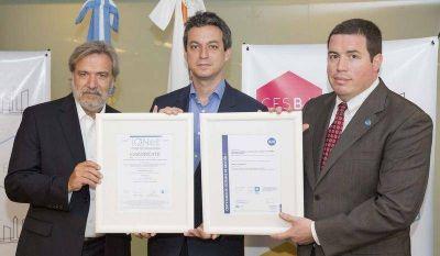 El CESBA obtuvo la certificación ISO 9001