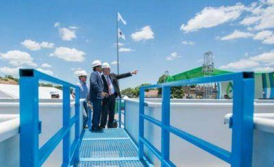 El gobernador Morales inauguró importante obra de agua en Alto Comedero