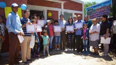 Continúa la entrega de viviendas sociales en Beltrán