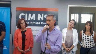 Provincia inauguró cinco Salas Cunas en Carlos Paz