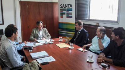 La provincia mejorará el agua potable en San Justo