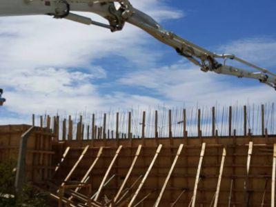 Avanza la construcción de la cisterna del barrio El Frutillar