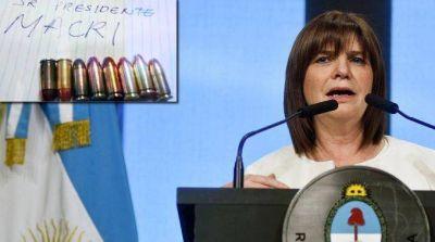 Por la amenaza a Macri, Bullrich prometió