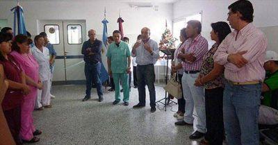 Inauguron un nuevo sector del hospital