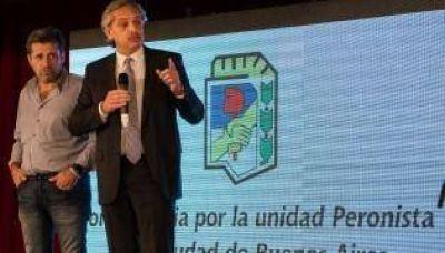 Santa María y Fernández van por la unión del PJ porteño
