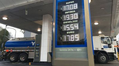 Desde enero el precio de la nafta volverá a aumentar