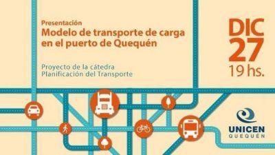 """Este martes presentarán el """"Modelo del transporte de carga de Puerto Quequén"""""""