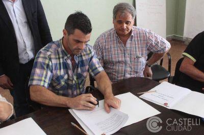 Se firmó el convenio colectivo de trabajo de empleados municipales