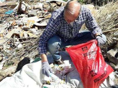 Escándalo: apuntan a médicos por los residuos patogénicos hallados en la cava