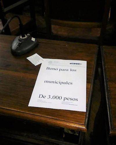 Municipios de la zona que pagarán un bono de fin de año a sus trabajadores contrastando con lo de Chascomús