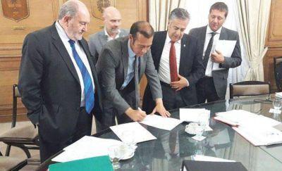 Verna votó contra la construcción de Portezuelo