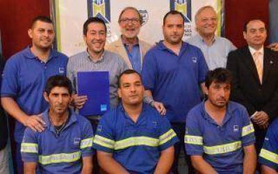 AySA comienza a operar en Malvinas Argentinas