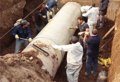 Se reanudó el bombeo de agua del Acueducto del Colorado